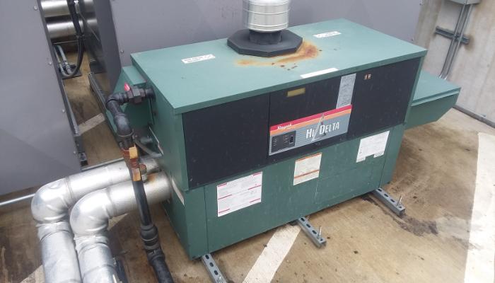 New Out Door Boiler